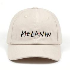 72a55c3de0aa9 Melanin - 4THELOW Embroidered Baseball Caps