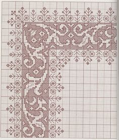 Embroideries, works and hundreds of cross-stitch patterns of all types, free: Great collection of patterns in Assisi point