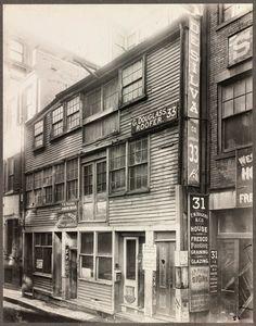 Province Court & Province Street, Boston, 1901