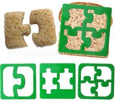 puzzle sandwich cutter.