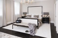 dreamy bedroom inspiration bedroom design bedroom ideas monochrome white and black How to create a glamorous and sophisticated interior : elegant luxurious stunning and sophisticated chic interiors: bedroom design Interior Design Services, Interior Designing, Chester, Sofa And Chair Company, My Ideal Home, High Quality Furniture, Best Sofa, Upholstered Furniture, Decoration