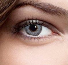 Farbige Kontaktlinsen Monatslinsen in Grau Blau Grün Braun Dreifarbig weiche Funlinsen ohne Stärke + 1 Kontaktlinsenbehälter (Grau-Silber)