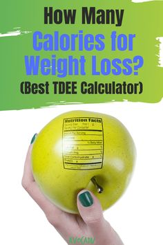 If you're trying to lose weight, you have probably thought about counting calories. But how do you know how many calories you should be eating? If you're trying to find the most accurate number, you need to calculate your TDEE. We found the most accurate TDEE calculator, as well as some other methods to figure out how to lose weight fast! #avocadu #weightlosscalculator #TDEEcalculator #howtocountcalories Weight Loss Blogs, Weight Loss For Women, Weight Loss Goals, Fast Weight Loss, Weight Loss Motivation, Healthy Weight Loss, Detox To Lose Weight, Lose Weight In A Week, Losing Weight Tips