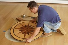Photo: Wendell T. Webber | thisoldhouse.com | from How to Install a Floor Medallion