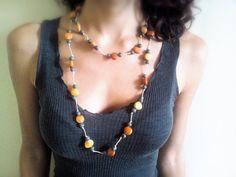 Amazon Collana fatta a mano Handmade di MetamorfosiAmbulante, €10.00