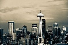 Seattle, Washington! Home of the huskies! WOOF!