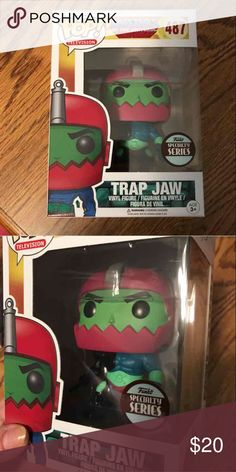Masters Of The Universe TRAP JAW Specialty Pop BRAND NEW NO Trades  Specialty Series Accessories