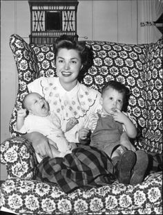 Esther Williams and children
