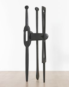 Isamu Noguchi 1904 - 1988 THE GUNAS bronze 72 x 24 1/2 x 27 in. Cast from the 1946 marble, now in the collection of the Whitney Museum of American Art, New York. Executed in 1966.