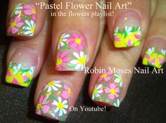 nail design for spring - Google Search