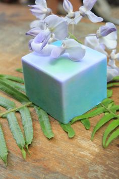 Purple Swirl Soap by SheDragonBody on Etsy, $5.00