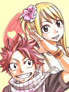 Fairy Tail - Lucy and Natsu