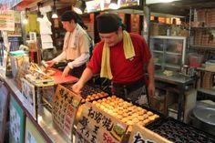 Osaka, Japan where the best Takoyaki is made