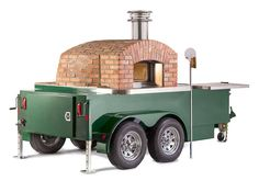 The Concessionaire Mobile Wood Fired Pizza Oven is the best selling mobile wood fired oven in the world. Say goodbye to setting