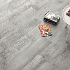 With its high shade variation the life grey porcelain wood effect flooring offers a wonderful shabby chic New England design. These matt textured R10 tiles have some anti slip qualities making them great for family homes. The PEI4 rating means they are a durable alternative to real wood floors and they can also be used in commercial environments.