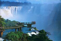 Cataratas del Iguazú - una de las 7 maravillas naturales del mundo - Misiones
