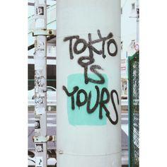 TOKYO IS YOURS. Yoyogi, TOKYO