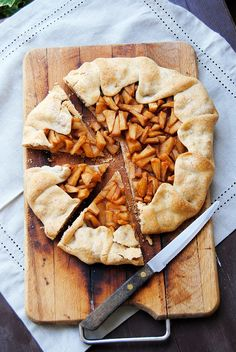 Baker's corner...somewhere in my kitchen: Apple Galette