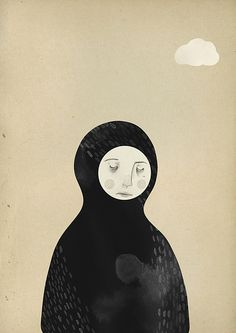 lucidity by Clare Owen Illustration, via Flickr