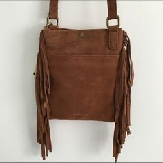 NWT Tan Side Bag NWT Lucky Brand Bags Satchels