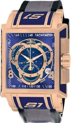 Invicta Watch Invicta. $225.00. Water Resistant up to 100 Meters (330 Feet).. Date Window. Swiss Quartz movement. Chronograph Function. Flame Fusion crystal