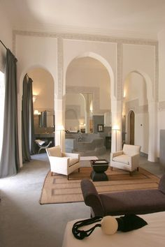 Romantic Hotel Riad Al Assala, Marrakech, Morocco Decor Interior Design, Interior Styling, Interior Decorating, Dream Home Design, House Design, Marrakech Morocco, Home And Deco, Living Room Interior, Interior Architecture