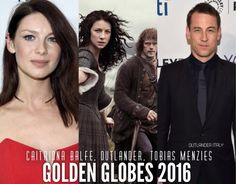 Outlander Italy ‏@OutlanderItaly 12/10/15 CONGRATS to @Outlander_Starz @caitrionambalfe & @TobiasMenzies for their #GoldenGlobes Nominations! #Outlander