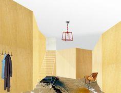 Interior graphics by Studio Toogood