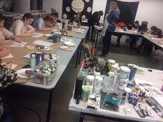 Quebec, Montreal, Table Settings, Workshop, Atelier, Quebec City, Work Shop Garage, Place Settings, Tablescapes