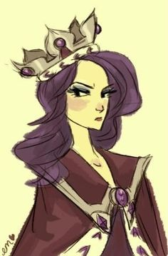 This is Emma. She is a queen. Her name is Queen Emily The 2nd. She left home because her kingdom was mean and rude. She is 18. And her kindness powers are week.
