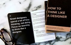 A 32-page notebook of UX inspiration including tips of the day, lessons, trigger questions, and design prompts.