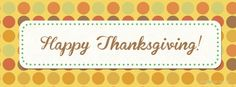 Happy Thanksgiving Wishes For Facebook