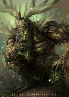 Forest Dryad by rickyryan