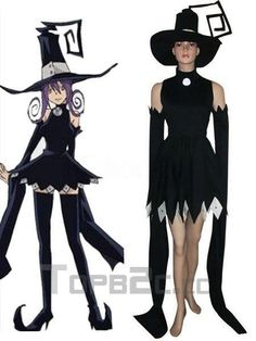 Soul Eater Blair Cosplay Costume Free Shipping-in Costumes & Accessories from Apparel & Accessories on Aliexpress.com | Alibaba Group