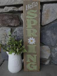 Image result for diy porch sign spring