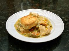 40 of Our Best Slow Cooker Chicken Recipes: Slow Cooker Chicken With Biscuits