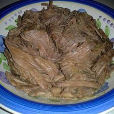 Awesome Slow Cooker Pot Roast Allrecipes.com #beef #itswhatsfordinner