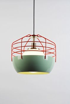 Hmmm. This pendant light might be just the thing to hang over my work table in my dream design studio. studio takagi