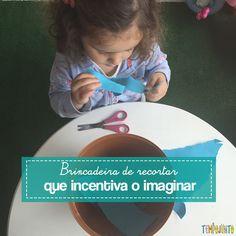 Uma brincadeira de recortar que é um convite maravilhoso para as crianças visitarem o reino do faz de conta.