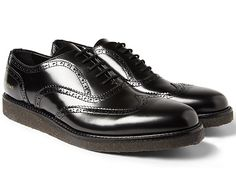 Common Projects Crepe Sole Leather Brogues MR PORTER Exclusive