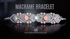 Mirrored Macramé Bracelet by Macrame School