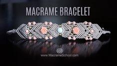 Mirrored Macramé Bracelet by Macrame School