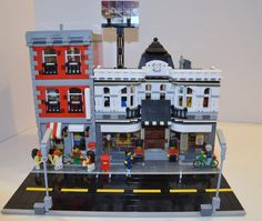 Lego Downtown Museum: A LEGO® creation by Joshua R. : MOCpages.com