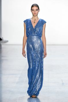 Tadashi Shoji Spring 2019 Ready-to-Wear Fashion Show Collection: See the complete Tadashi Shoji Spring 2019 Ready-to-Wear collection. Look 17