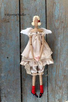 кукла тильда ручной работы купить тильду подарок на день влюблённых 14 февраля день святого валентина ангел тильда ангел валентинка ангел хранитель