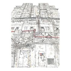 $1.10  ·  Hong Kong urban sketch. Kowloon backstreet. Plein air sketch of Evgeny Bondarenko Urban Design Concept, The Future Is Now, Architecture Plan, Rustic Interiors, Sustainability, Hong Kong, City Photo, Sewing Projects, Sketch