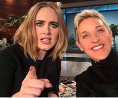 Adele on Ellen show