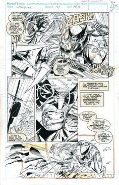 Wolverine 57 page 18 art by Marc Silvestri.jpg (789×1221)