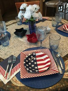 Dinner at Eight: A Casual Fourth of July
