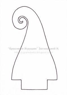 Новогодняя елка и снеговик (+ выкройка!!!) :: Красивые Игрушки Затинацкой Натальи